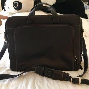 Lodis Dark Mocha Laptop Bag